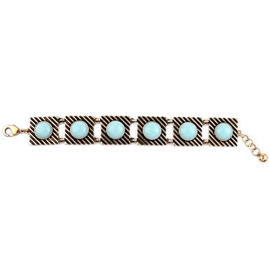 Damskie Bransoletki i łańcuszki na rękę Postarzane Stop Square Shape Biżuteria Na Impreza Specjalne okazje 1szt