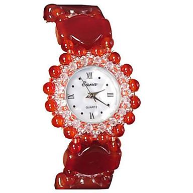 Pentru femei Ceas La Modă Quartz Jade Bandă Roșu