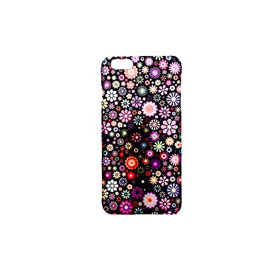 Kılıf Na Apple Szron Wytłaczany wzór Wzór Etui na tył Kwiaty Twarde PC na iPhone 7 Plus iPhone 7 iPhone 6s Plus iPhone 6 Plus iPhone 6s