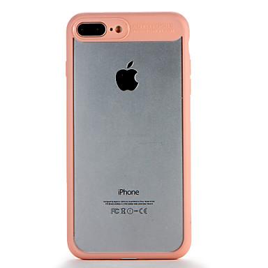 Voor apple iphone7 7 plus case cover transparante back cover case vaste kleur harde pc 6s plus 6 plus 6s 6
