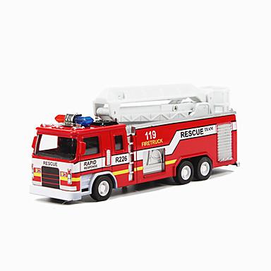 Jucării pentru mașini Jucarii Tren Vehicul Pompieri Jucarii Simulare Altele Tren Mașini de Pompiere Aliaj Metalic Bucăți Unisex Cadou