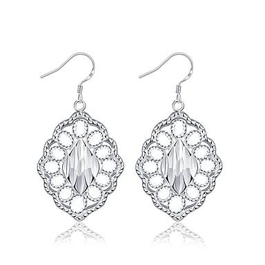 Dames Druppel oorbellen Sieraden Basisontwerp Verzilverd Sieraden Sieraden Voor Bruiloft Feest Speciale gelegenheden  Verjaardag