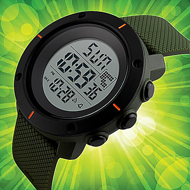Heren Unieke creatieve horloge Polshorloge Dress horloge Modieus horloge Sporthorloge Chinees Digitaal Kalender Chronograaf