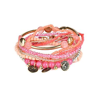 للمرأة أساور حبلا مجوهرات بوهيميان الطبيعة مصنوع يدوي بانغك راتينج Circle Shape مجوهرات الذكرى السنوية عيد ميلاد الرياضة الفالنتين