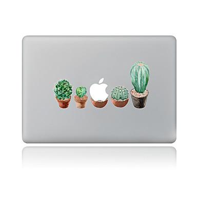 1 Stück Kratzfest Blumen/Pflanzen Transparenter Kunststoff Gehäuse Aufkleber Muster FürMacBook Pro 15'' with Retina MacBook Pro 15 ''