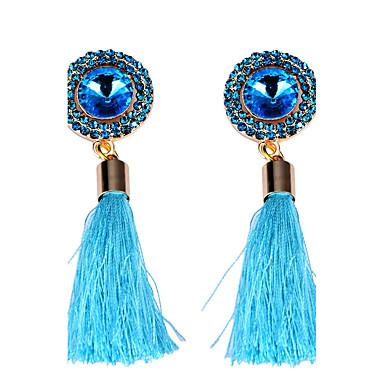 Damen Anderen Tropfen-Ohrringe - Einzigartiges Design / Quaste Weiß / Blau Ohrringe Für Party / Alltag / Normal