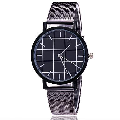 Heren Dress horloge Modieus horloge Japans Kwarts Legering Band Bedeltjes Vrijetijdsschoenen Elegante horloges Zilver Goud Goud Rose