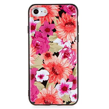 Geval voor apple iphone7 7 plus bloemenpatroon harde pc voor iphone 6s plus 6 plus 6s 6