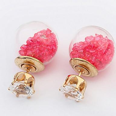 Damen Mädchen Ohrstecker Tropfen-Ohrringe Kreolen Schmuck Personalisiert Luxus Kreisförmiges Einzigartiges Design Klassisch Retro