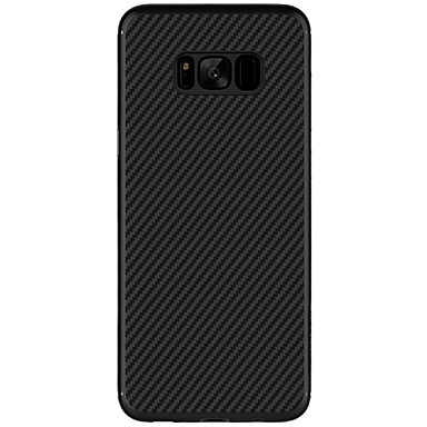 voordelige Galaxy S-serie hoesjes / covers-Nillkin hoesje Voor Samsung Galaxy S8 Plus / S8 Ultradun / Patroon Achterkant Effen Hard Hiilikuitu voor S8 Plus / S8 / S7 edge