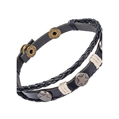 Heren Lederen armbanden Sieraden Natuur Modieus Leder Legering Sieraden Speciale gelegenheden  Sport