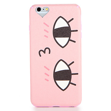 Hülle Für Apple iPhone 7 Plus iPhone 7 Muster Rückseite Cartoon Design Weich TPU für iPhone 7 Plus iPhone 7 iPhone 6s Plus iPhone 6s