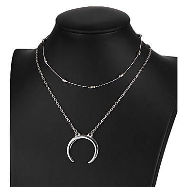 Pentru femei Coliere Choker Diamant sintetic Star Shape Reșină Aliaj Design Unic Euramerican Bijuterii Pentru Nuntă Petrecere Zilnic