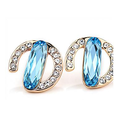 Damen Ohrring Schmuck Personalisiert Euramerican Modisch Krystall Aleación Schmuck Schmuck Für Hochzeit Party