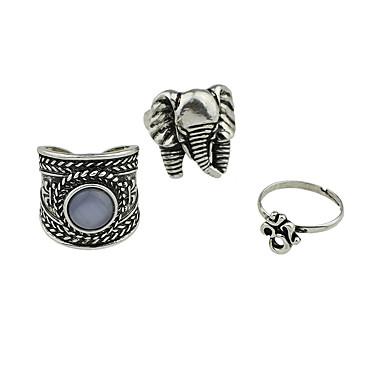 Dames Ring Basisontwerp Legering Sieraden Voor Causaal 1 Set