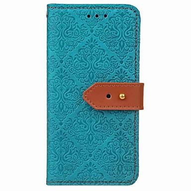 levne Pouzdra na iPhone 5c-pouzdro pro iphone xr xs xs max peněženka / držák na karty / s pouzdry na stojany pevné barevné kožené pouzdro pro iPhone x 8 8 plus 7 7plus 6s 6s plus se 5 5s