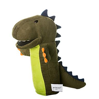 محشوة لعب دمى عرائس كلب لليد ألعاب ديناصور حيوان جذاب محبوب تاكتيل قطيفة للأطفال قطع