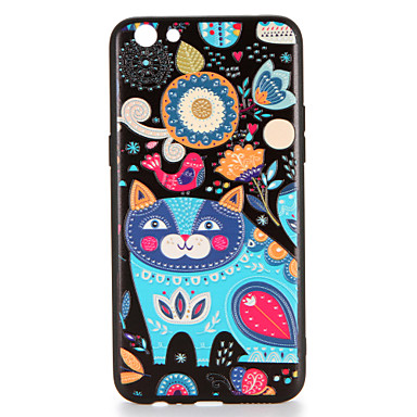 Voor oppo r9s r9s plus case cover patroon achterkant hoesje kat harde pc r9 r9 plus