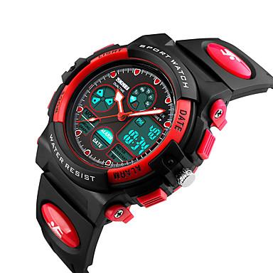 Slim horloge Waterbestendig Sportief Multifunctioneel Stopwatch Wekker Chronograaf Kalender Dubbele tijdzones Other Geen Sim Card Slot