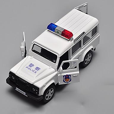 Jucării pentru mașini Jucarii Model Mașină Mașini de Poliție Jucarii Aliaj Metalic Crom Bucăți Pentru copii Cadou