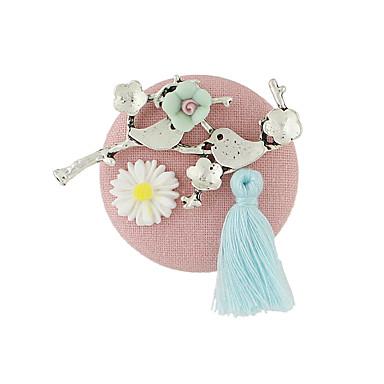 نساء دبابيس تصميم بسيط سبيكة مجوهرات إلى فضفاض