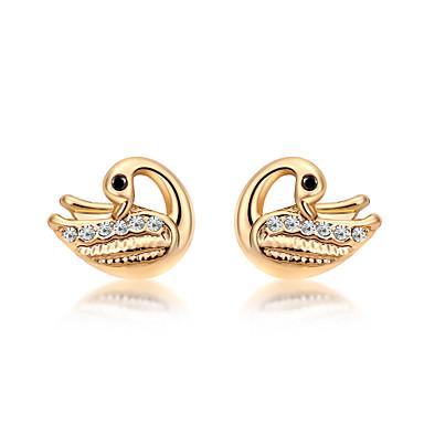 للمرأة أقراط الزر مجوهرات مخصص موضة euramerican في أحجار الراين سبيكة أخرى مجوهرات زفاف حزب الذكرى السنوية