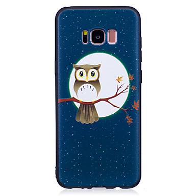 Hülle Für Samsung Galaxy S8 Plus S8 Muster Rückseitenabdeckung Eule Weich TPU für S8 S8 Plus S7 edge S7