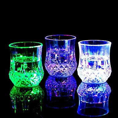زجاج النبيذ بلاستيك, خمر إكسسوارات جودة عالية خلاقforبرواري 8.0*8.0*8.0 0.08