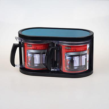 2 Bucătărie Oțel inoxidabil Plastic Shakere & Mixere