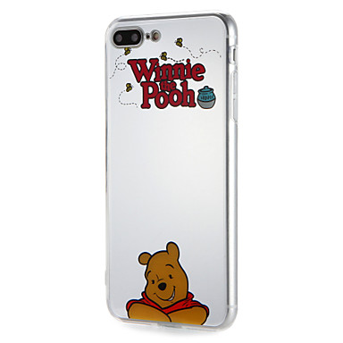 غطاء من أجل Apple iPhone 7 Plus iPhone 7 نموذج غطاء خلفي جملة / كلمة كارتون ناعم TPU إلى iPhone 7 Plus iPhone 7 iPhone 6s Plus ايفون 6s