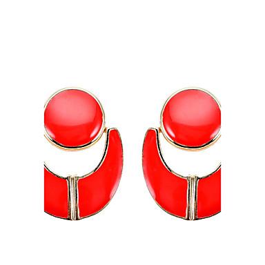 Damen Tropfen-Ohrringe Einzigartiges Design Geometrisch arylic Aleación Schmuck Schmuck Für Party Alltag Normal Bühne