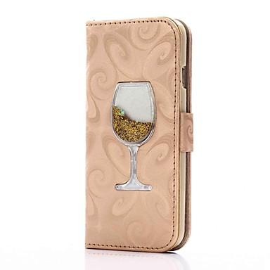 Pentru iPhone 8 iPhone 8 Plus Carcase Huse Portofel Titluar Card Cu Stand Scurgere Lichid Întoarce Magnetic Corp Plin Maska Luciu