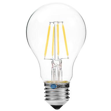 4W Bec Filet LED A60(A19) 4 COB 300 lm Alb Cald Alb V 1 bc