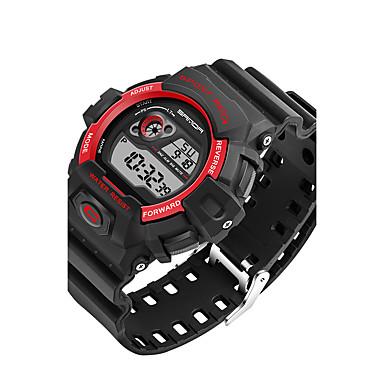 SANDA Herrn Sportuhr Militäruhr Smart Watch Modeuhr Armbanduhr Japanisch digital Kalender LED Fitness Tracker Stopuhr Nachts leuchtend