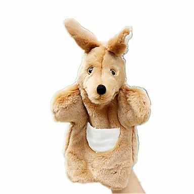 عرائس الأصابع العرائس ألعاب Rabbit كنغر حيوان الحيوانات قماش قطيفة للأطفال هدية