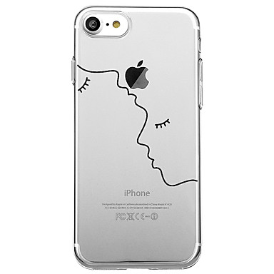 iPhone disegno iPhone Apple X Geometrica 05909386 onde 8 Transparente animati iPhone X 8 Per 8 iPhone Plus retro Con Fantasia per Cartoni Morbido Per Custodia TPU iPhone SRqfwx185n