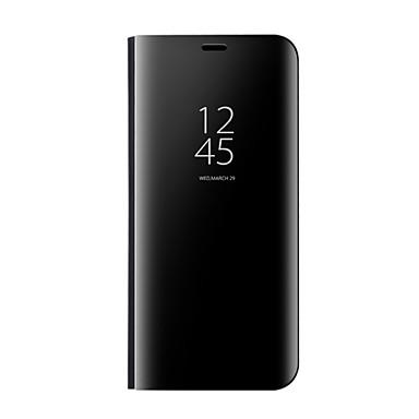 Hülle Für Samsung Galaxy S8 Plus S8 mit Halterung Spiegel Flipbare Hülle Automatisches Schlafen/Aufwachen Handyhülle für das ganze Handy