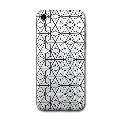 Hülle Für Apple Muster Rückseitenabdeckung Linien / Wellen Anwendung Geometrische Muster Weich TPU für iPhone 7 plus iPhone 7 iPhone 6s