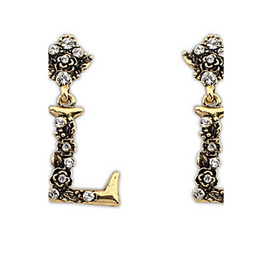 Dames Oorknopjes Druppel oorbellen Ring oorbellen Bergkristal Gepersonaliseerde Religieuze sieraden Luxe Meetkundig Uniek ontwerp