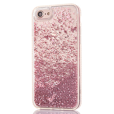 Transparente iPhone Liquido 05911754 Plus Per 8 8 8 Apple Custodia cascata Glitterato Per Con diamantini PC a iPhone Resistente retro iPhone per 7wzBqH