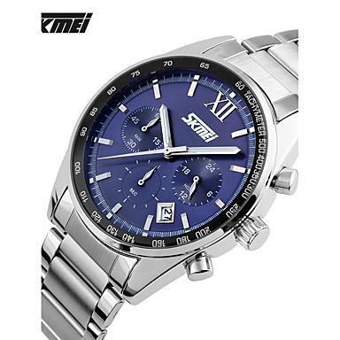 Heren Sporthorloge Dress horloge Modieus horloge Polshorloge Unieke creatieve horloge Chinees Kwarts Kalender Waterbestendig Dubbele
