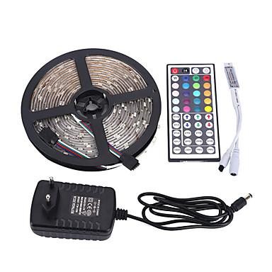 5m Bare De Becuri LED Rigide 0pcs LED-uri RGB Telecomandă Ce poate fi Tăiat Intensitate Luminoasă Reglabilă Rezistent la apă Schimbare -