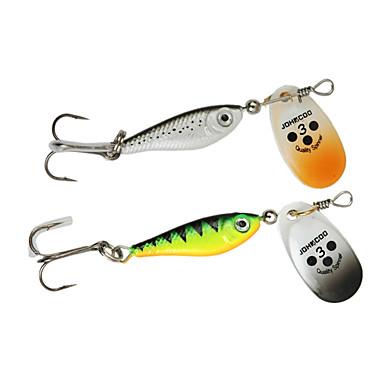 4 штук Ложки Пайетки Морское рыболовство Ловля на приманку Спиннинг Ловля на крючок Пресноводная рыбалка Обычная рыбалка Ужение на