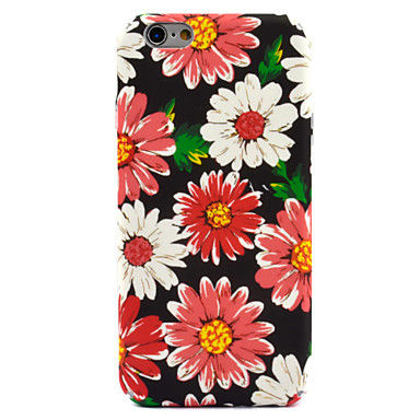 hoesje Voor Apple iPhone 7 Plus iPhone 7 Patroon Achterkant Bloem Hard PC voor iPhone 7 Plus iPhone 7 iPhone 6s Plus iPhone 6s iPhone 6