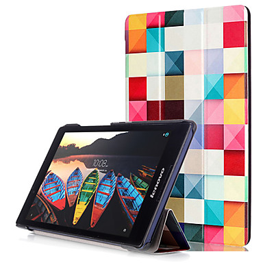 Hülle Für Lenovo Ganzkörper-Gehäuse Tablet-Hüllen Hart PU-Leder für