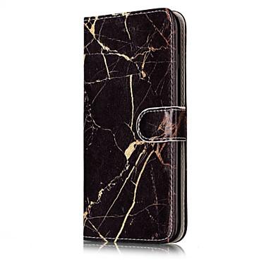 Pentru iPhone 8 iPhone 8 Plus Carcase Huse Titluar Card Cu Stand Întoarce Model Corp Plin Maska Marmură Greu PU Piele pentru Apple iPhone