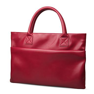 حقائب الأكمام إلى لون الصلبة جلد اصطناعي مادة MacBook Pro