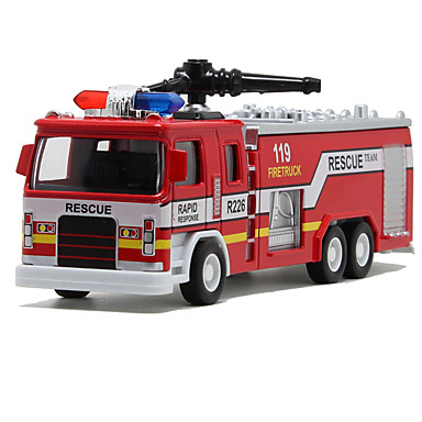 Speelgoedauto's Speeltjes Trein Brandweerwagen Speeltjes Simulatie Anderen Trein Brandweerwagens Metaallegering Stuks Unisex Geschenk