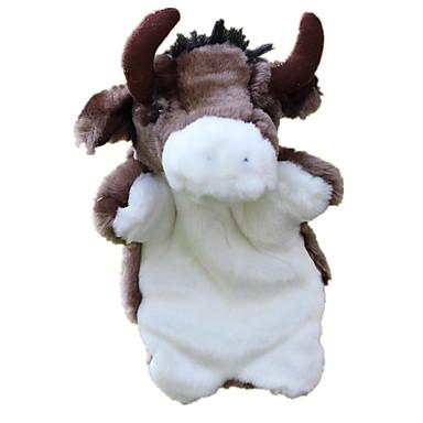 حيوانات محشية العرائس ألعاب ثور قماش قطيفة للأطفال قطع