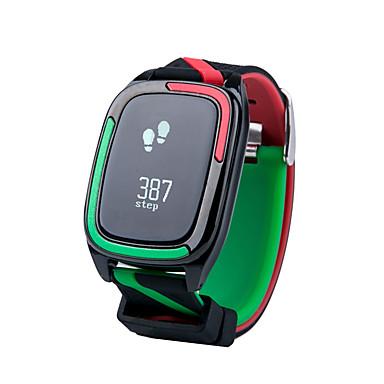 Slimme armband Waterbestendig Lange stand-by Verbrande calorieën Stappentellers Hartslagmeter Bloeddrukmeting InformatieSlaaptracker